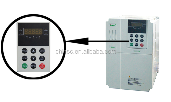 3.7kw 380v industrial exhaust fan speed controller Variable frequency drive AC Drive