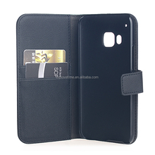 simple PC wallet leather case for Samsung HTC One M9