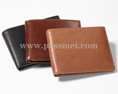 Trend Rfid Blocking Fabric Trifold Man Wallet