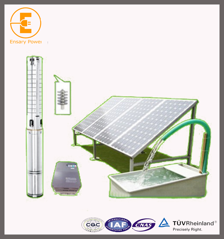 solar water pump price list dc deep well for agriculture factory price