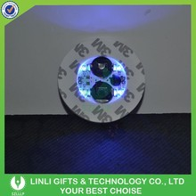 Hot Sale Flashing Mini Glitter LED Bottle Sticker For Night Club