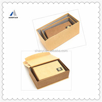 Chinese custom gift box,make up cosmetic beauty box,mac makeup beauty case box in Shanghai