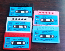 Hot sale popular promotional gift tape cassette MP3 player with fm radio