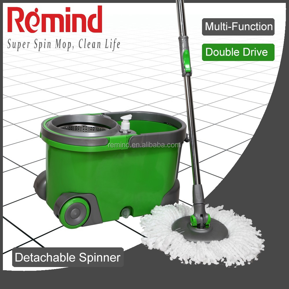 Super 360 Cyclonic Spin Mop with Double Action Mop Bucket