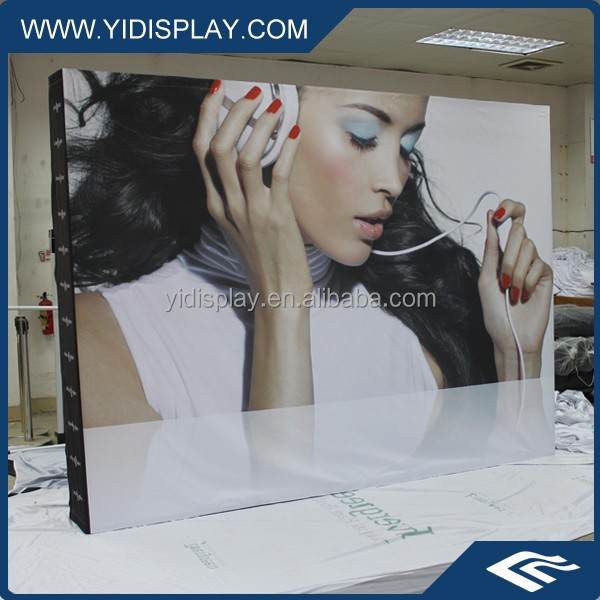 Hot sale exhibition pop up display, trade show pop up banner