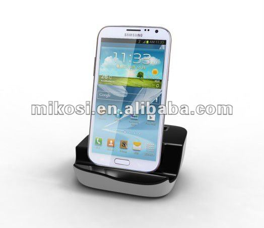 Universal multi micro USB charging port cradle docking station charger for Samsung Galaxy S2 S3 Note Note II table PC
