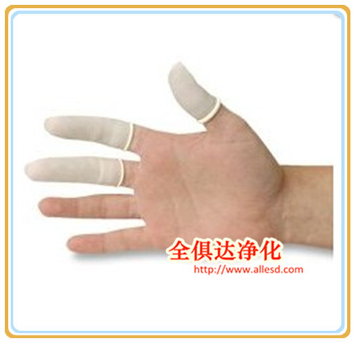 Industrial use Roll-type Cleanroom White Latex ESD Finger Cot