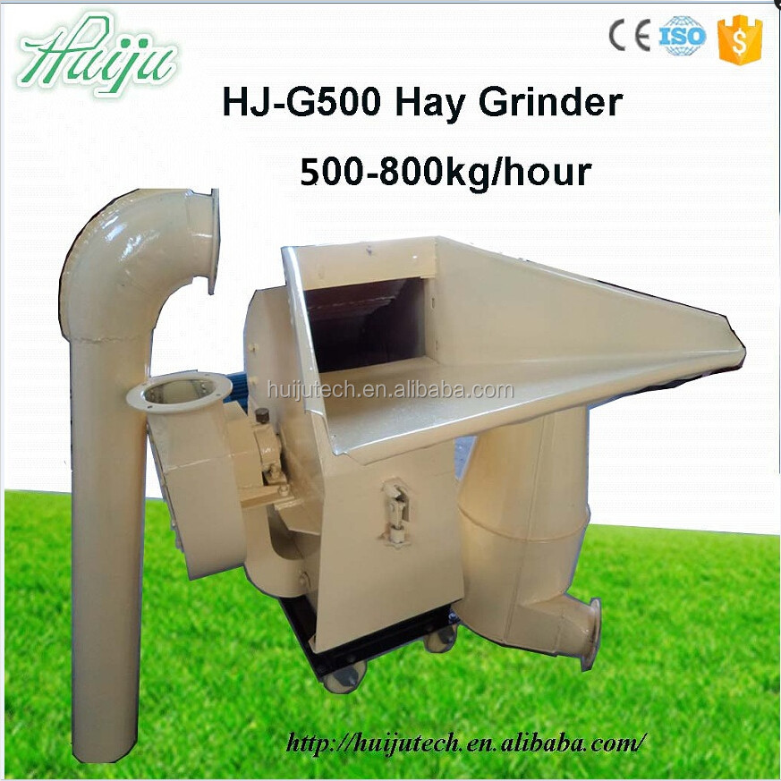 bench grinder/straw crushing machine combined with hay cutter and straw grinder