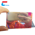 OEM Hot Selling Blank PVC Visa Credit Cards With silver mirror finish