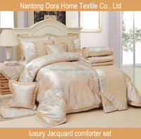 4pcs set jacquard bed cover bed set quilt cover set