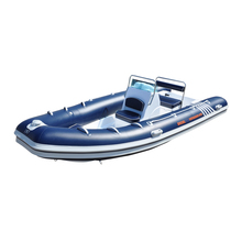 China Inflatable RIB Boats with Fiberglass Hull Hypalon or PVC Material for sale