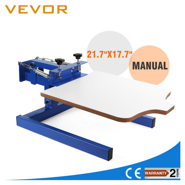 VEVOR Digital 1 color 1 station T-Shirt Screen Printing Machine