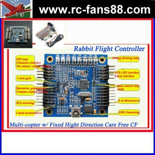 Rabbit Flight Controller for RC Quad Multi-copter