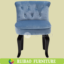 American Style Single Seater Tufted Sofa Chair/Button Style Sofa Chair Mini Sofa Chair