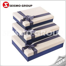 oval shape gift box foldable wine gift boxes