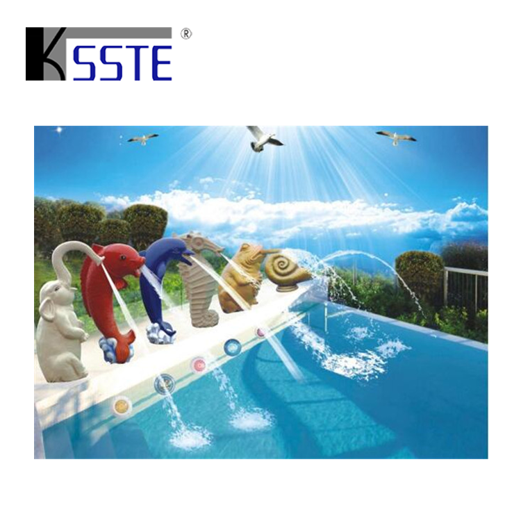 Dolphin Shape Spa Equipment Swimming Pool Water Blade Waterfall And  Fountains - Buy Pool Waterfall,Swimming Pool Water Blade Waterfall,Pool  Fountains ...