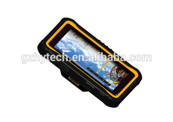Portable RFID 1D/2D barcode rugged tablet pc for asset management