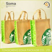 Top quality hot sell plain organic canvas tote bag