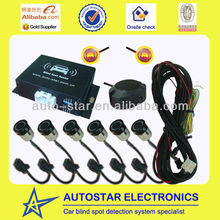 Rear parking assistant and blind spot detection system car accessories