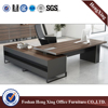 1.8m metal leg manager desk modern office table design (HX-ET14041)