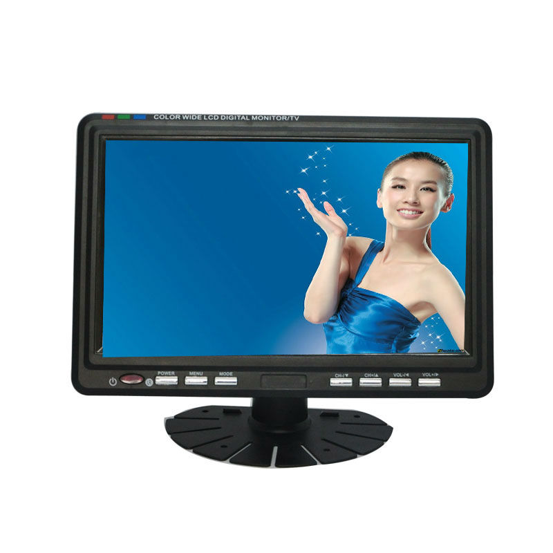"""Fjd 9"""" Lcd/60hz Led Televisie Tv Tft Draagbare"""