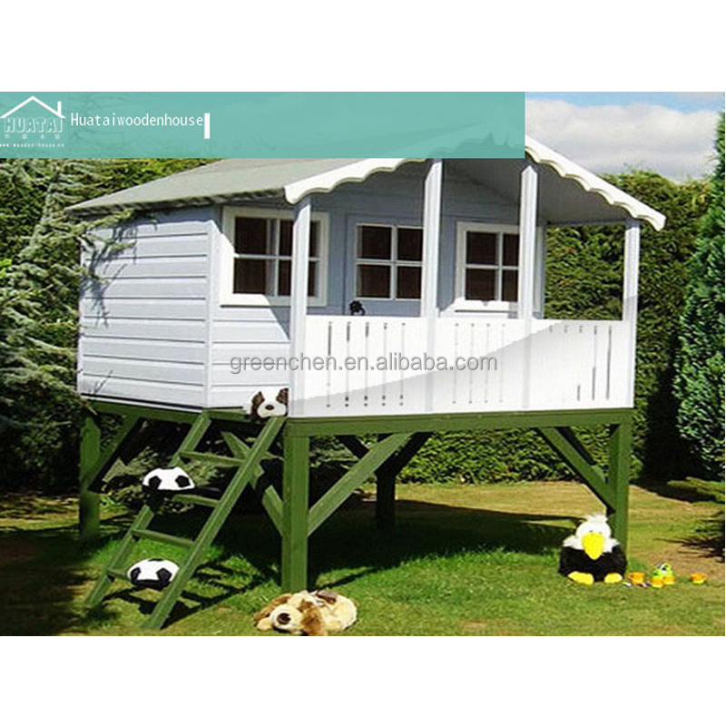 Outdoor prefab kids wooden play house