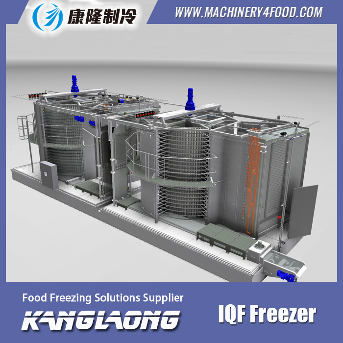 High Quality used iqf spiral freezer