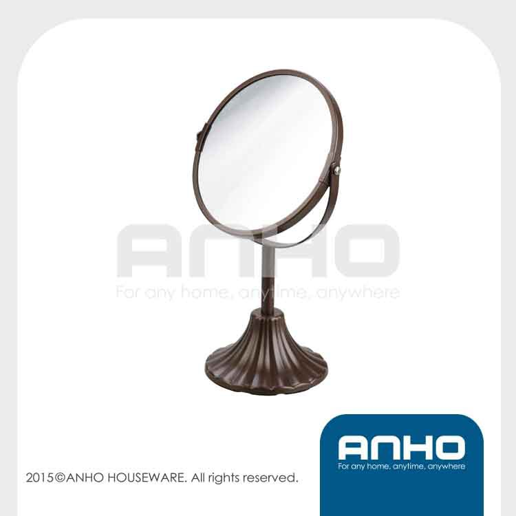 D17cm double-sided table mirror, makeup mirror, desktop mirror china supplier