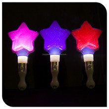 LED Star Princess Wand Light Up Magic Bar Halloween Flashing Blinking Party Costume Accessories