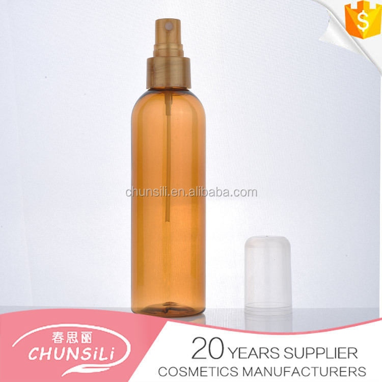 2015 new product hot sale OEM cosmetic 100ml pet small bottle washing