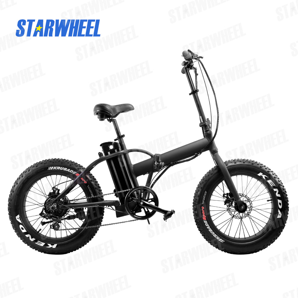 "20"" fat tire snow bike electric mountain bike folding electric bicycle for sale"