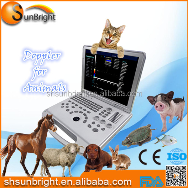 veterinary color Doppler ultrasound system Sun-906S