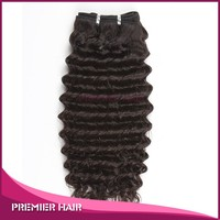 Premier Hair Best Quality 16inch Deep Wave 100% Virgin Brazilian Human Hair Extension