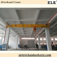5 ton ELK electric single girder overhead crane for factory