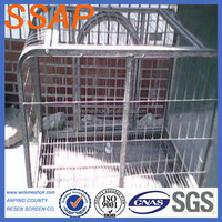 Best Price Foldable Metal Dog Cages(factory)