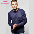 Long sleeve military t shirt with pocket