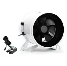 30W 6 Inch 220V EC motor Industrial Axial Flow Ventilation Fan