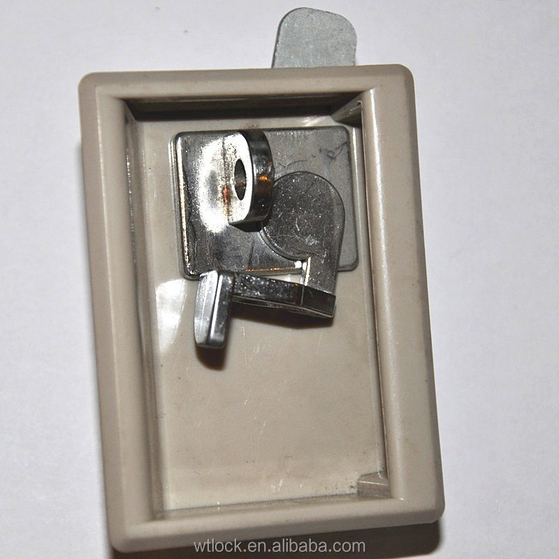 Security cabinet pad lock furniture lock with handle for cabinet