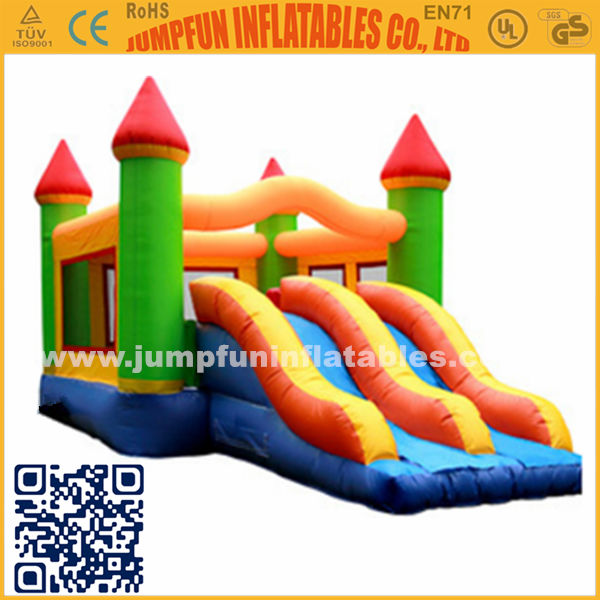 Jumpfun! Inflatable Bouncy Castle/Jumping bounce with slide