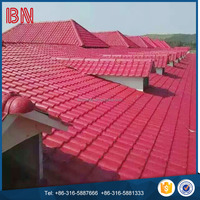 Plastic PVC Corrugated Roofing Plate Tile