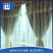 Online shopping embroidery european design lace curtains for home