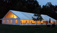 Easy installed PVC coated aluminum frame large event tents for sale