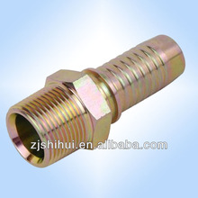 carbon steel Npt Male -Hydraulic Hose Fittings by cnc machine