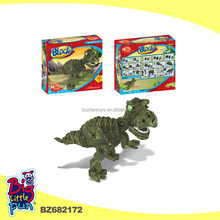Intelligence funny EVA foam toys tyrannosaurus animal puzzle model 3d Jigsaw Puzzle kids foam toys