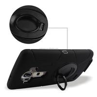 free sample hybrid unlocked Commander combo cell phone case for LG G4