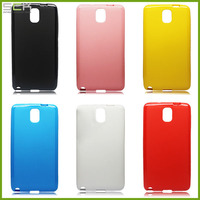 new products TPU gel case for Samsung Note 3 cover