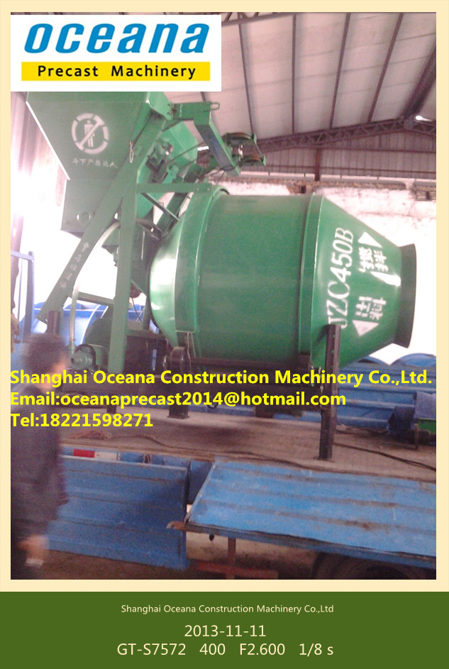 Rotating Drum Cement Mixer New Self Loading