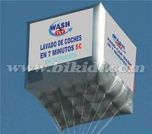 Big helium balloon, inflatable cube balloon, ballons for advertising K7020