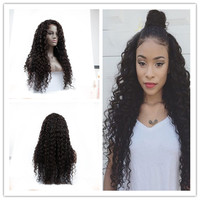 Free Shipping Brazilian Full Lace Human Hair Wigs Natural Cheap Curly Full Lace Front Human Hair Wigs With Baby Hair