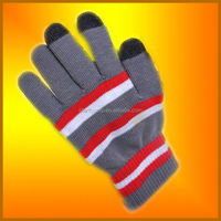 100% acrylic cotton wholesales Individual Packed Gloves (ST-G355)